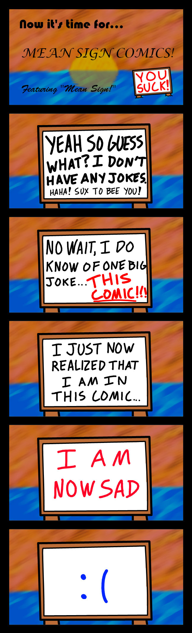Mean Comic Time