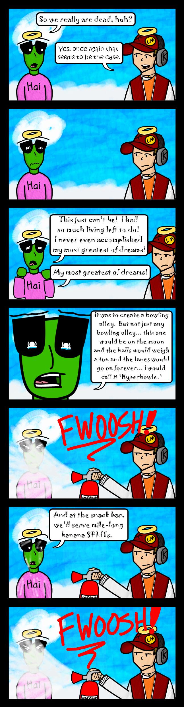 Hyper's dream