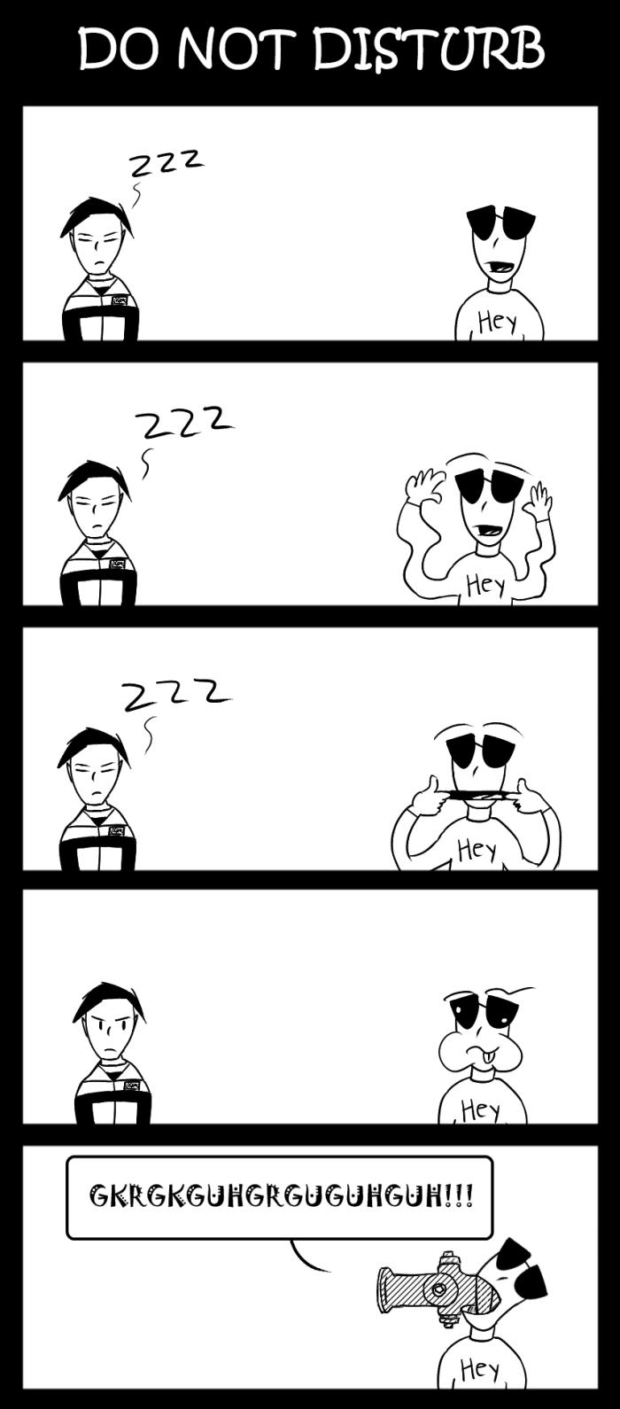 Do Not Disturb (yet another older comic dealio)
