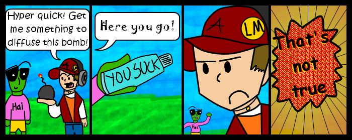 Kaboom Comic #3